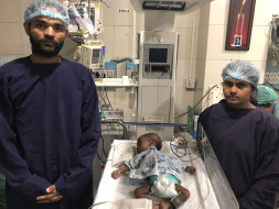 Help 3-month-old Devesh who is fighting a severe heart disease