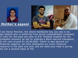 Help My Son Fight Leukemia and Get a Bone Marrow Transplant