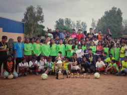 Football Shoes & Coaching For Underprivileged Girls - Sparky Football
