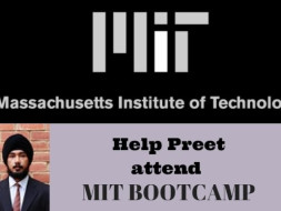 Help Preet to attend MIT Entrepreneurship Course!!!