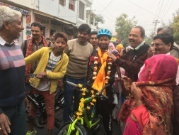 Help Govind Cycle from Udaipur-Bangalore