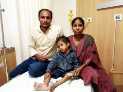 Help 3-year-old Akhil fight cancer