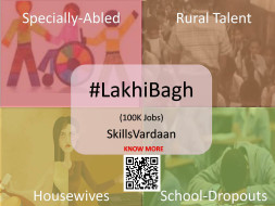 #LakhiBagh - Providing Sustainable Employment to 100k