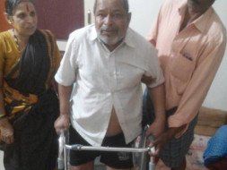 My Father Is Paralysed, Please Support Him For Physiotherapy
