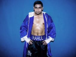 "Professional Boxer Rahul ""TheTiger"" Ganguly"