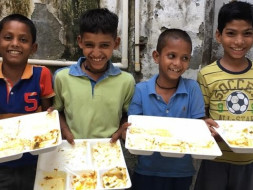 HELP TO FIGHT WITH UNDERPRIVILEGED CHILDREN FOR DAILY MEAL & EDUCATION
