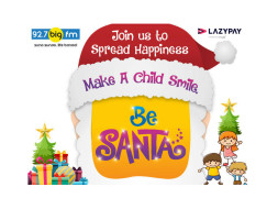 Join 92.7 Big Fm And #BeSanta To Kids Of AngelXpress Foundation