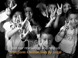 Join our revolution to end malnutrition in India