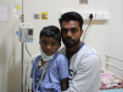 At just the age of 5 Rihan has been suffering in pain due to cancer