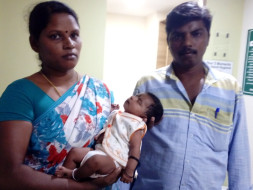 Help Parimala save her one month old baby girl
