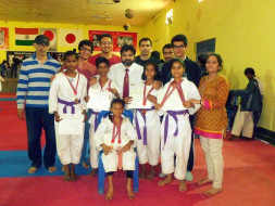 Help underprivileged children to live their dream-Karate Championship