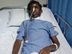 ''Help Manokaran Ponpandian Heart open surgery and Lung infection''