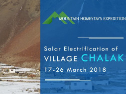 Fundraiser for Solar Electrification of Chalak Village