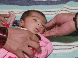 15 days old Baby of Durga needs an open heart surgery to survive.