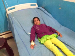 7-year-old Madhuri's kidneys have failed and she needs a new kidney