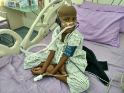 Save 6-year-old Sanuthi From A Life Threatening Fungal Infection
