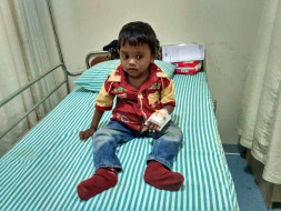 Help 3-year-old Soumen fight a severe blood disorder