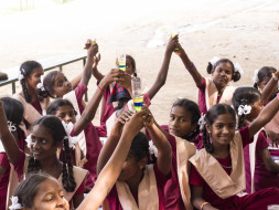 Help LMES in conducting workshop for Girls Govt. School, Nandivaram