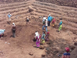 Watershed development in drought prone villages of Maharashtra