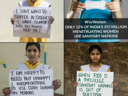 on donation of each 250₹ We'll donate yearly quota of sanitary pads