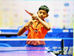 Preyesh suresh raj sports player india no 1 in table tennis