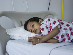 This 5-year-old girl is forced to fight a life long blood disorder