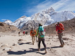 Walking to Everest Basecamp to Raise Money for Pune Children's Zone