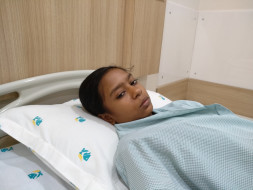 Help 12-year-old Sanjia fight heart disease