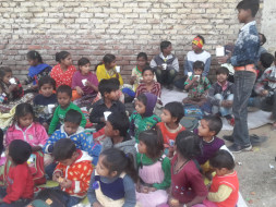 Give A Right To Living And Education For Leprosy People's Kids