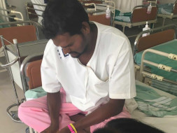 Help Sampath fight spinal angioma