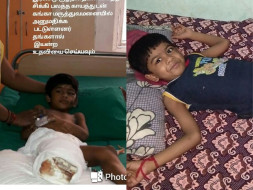 Help 6 Year Old Hari Haran Walk After His Accident.