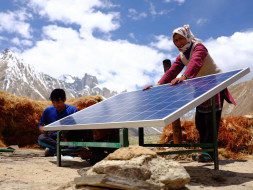 Solar Energy for Himalayan Village