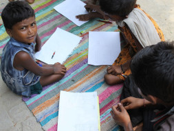Education centers for underprivileged