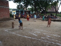Help Poor Girls and Boys Cricket Team of a Village at Auraiya Dist. UP