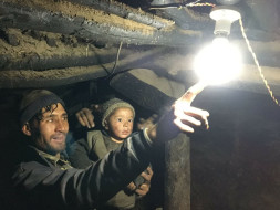 Solar Electrification of Remote Himalayan Village in Ladakh