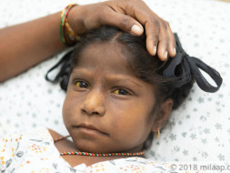 7-year-old Seelam Has Suffered For Years And Now Her Time Has Run Out
