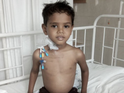 Help my 4yr old baby recover from blood cancer