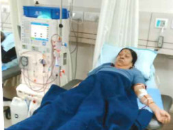 Help military man's wife-Ranjana survive kidney failure