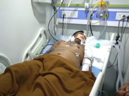 Help 28 years old Sudhakar fight against brain hemorrhage