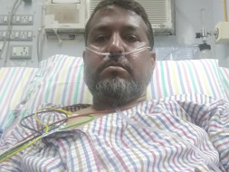 Help Aijaz fight Lung disease! surviving on medical oxygen.