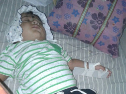 Help 13 month old Abhineet Suffering Hole in Heart.
