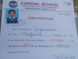Help Manjunatha Educate His Daughter