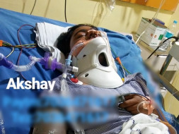Help Akshay Recover From Severe Injuries