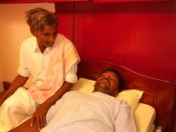 Help Rajagopal Undergo Stent Placement Surgery