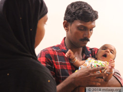 Coolie Father Struggles To Save His 2-Month-Old From A Failing Heart