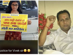 Support for Vivek Tiwari's Wife and Daughters