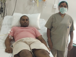 Help Gorakshanath Khedkar to Fight With Cancer