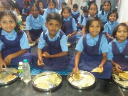 Feed Breakfast For The Needy School Children