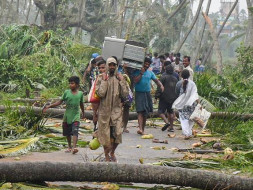 Fund raising for Victims of Titli Cyclone