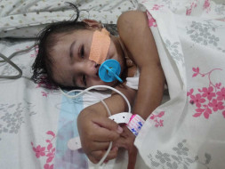 Help Little Vardhana Suffering From Neurogenic Health Issues
